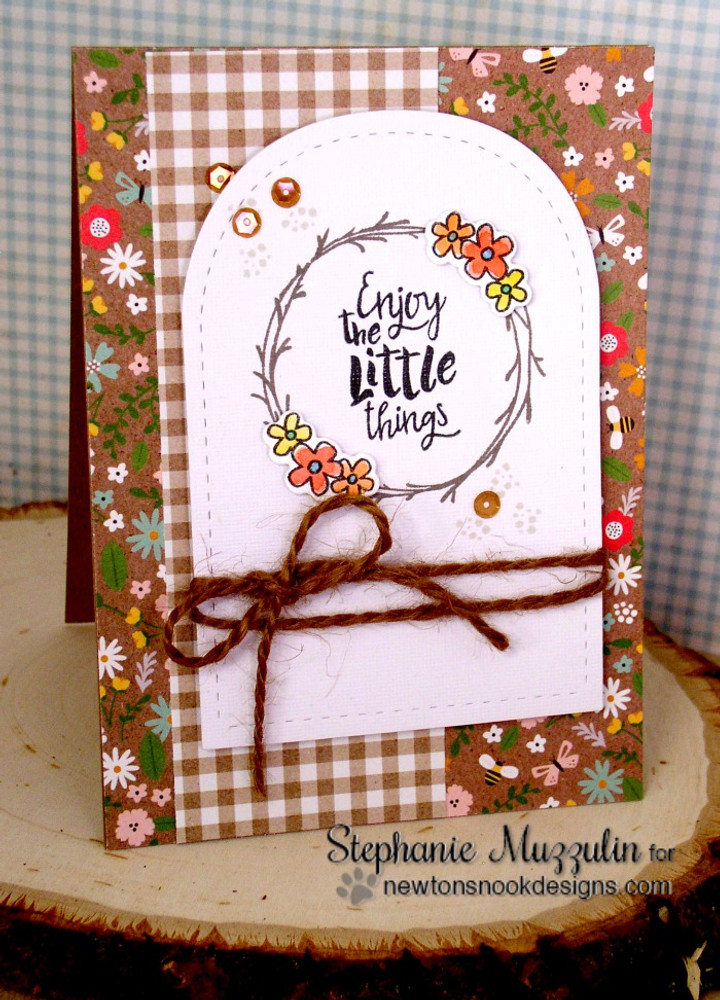 Happy Little Thoughts Stamp Set ©2016 Newton's Nook Designs