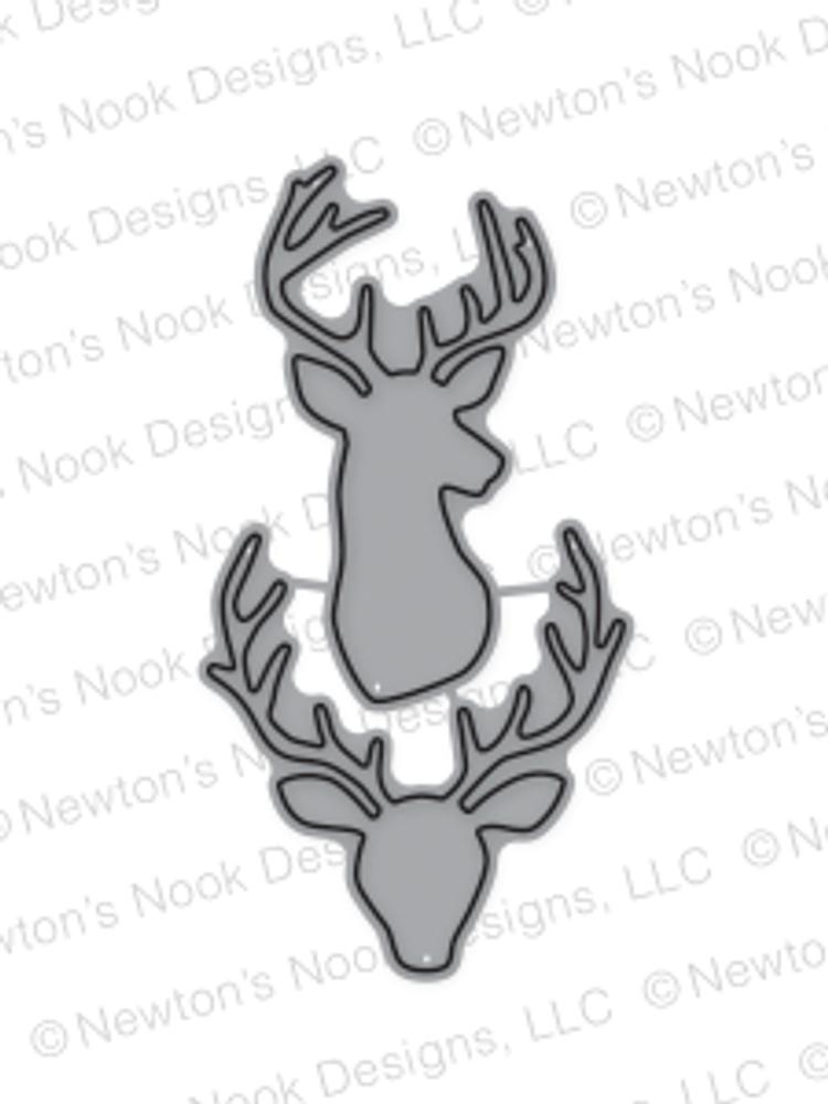 Splendid Stags Die set ©2016 Newton's Nook Designs