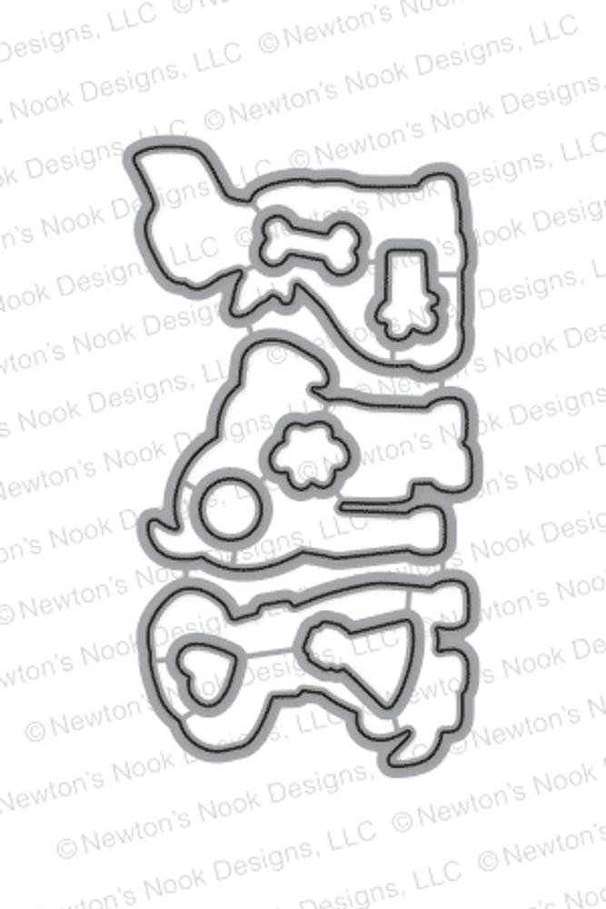 Fetching Friendship Die Set ©2016 Newton's Nook Designs