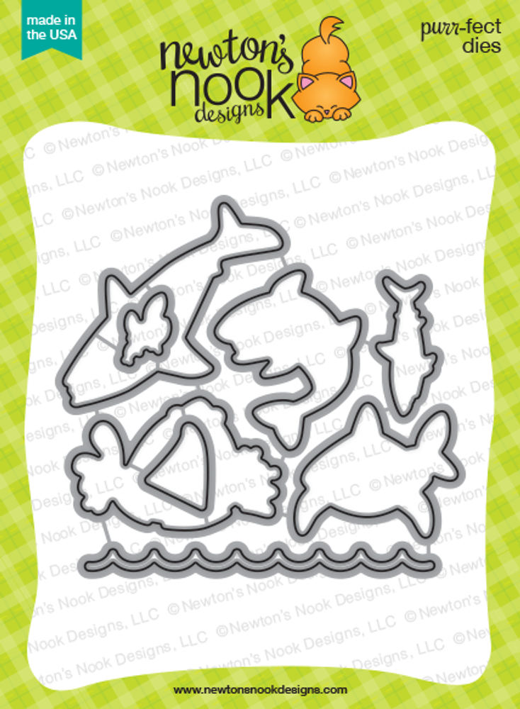 Shark Bites Die Set ©2016 Newton's Nook Designs