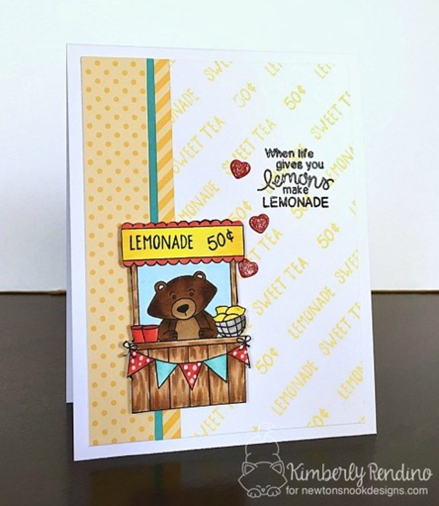 Freshly Squeezed Stamp Set ©2016 Newton's Nook Designs