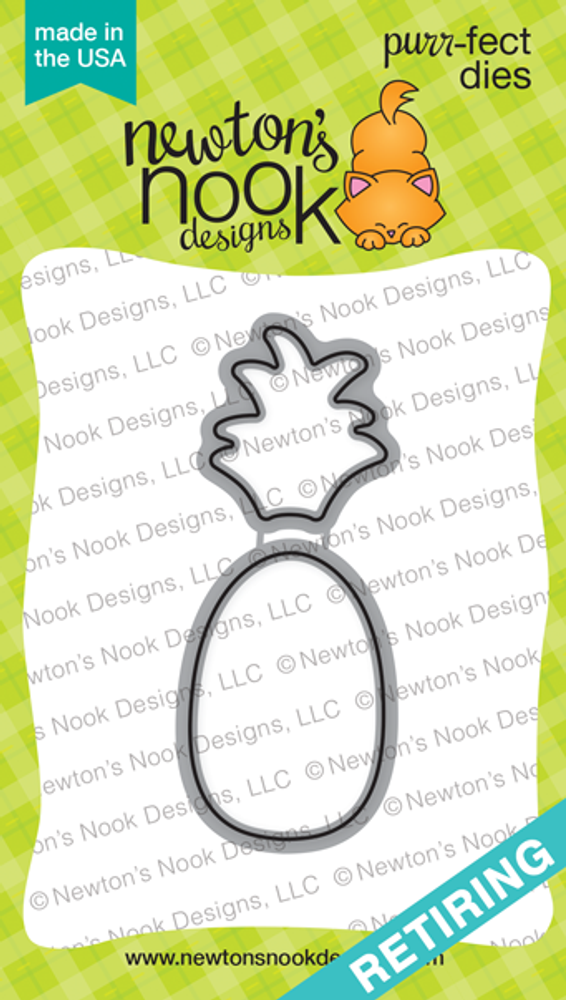 Pineapple Delight Die Set ©2016 Newton's Nook Designs