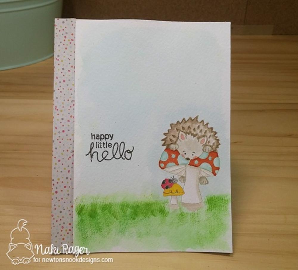 Hedgehog Hollow Stamp Set ©2016 Newton's Nook Designs