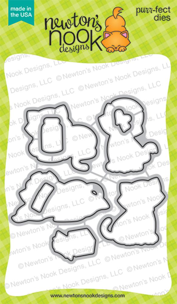 Newton's Sick Day Die Set ©2016 Newton's Nook Designs