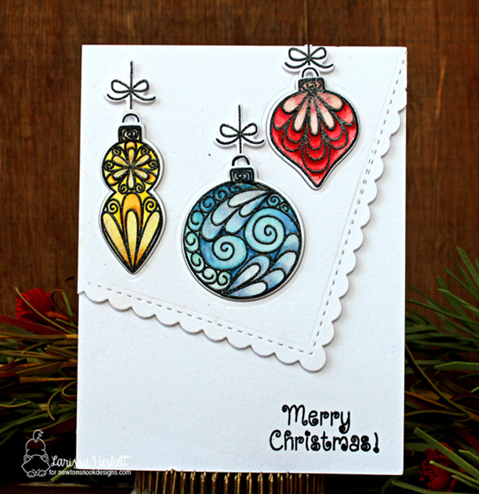 Beautiful Baubles Stamp Set by Newton's Nook Designs