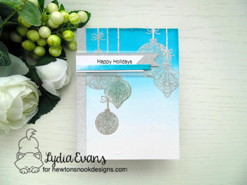 Beautiful Baubles Stamp Set ©2016 Newton's Nook Designs
