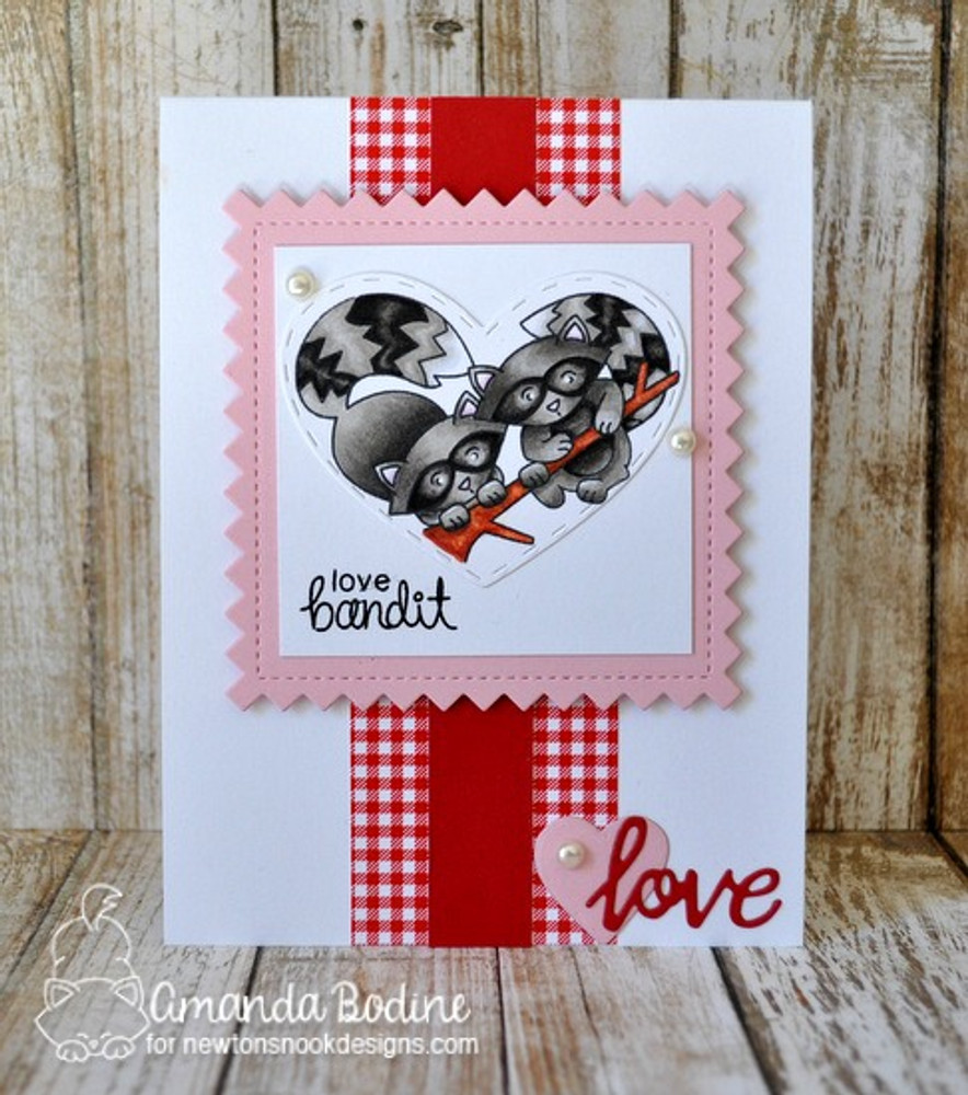 Woodland Duos Stamp Set ©2017 Newton's Nook Designs