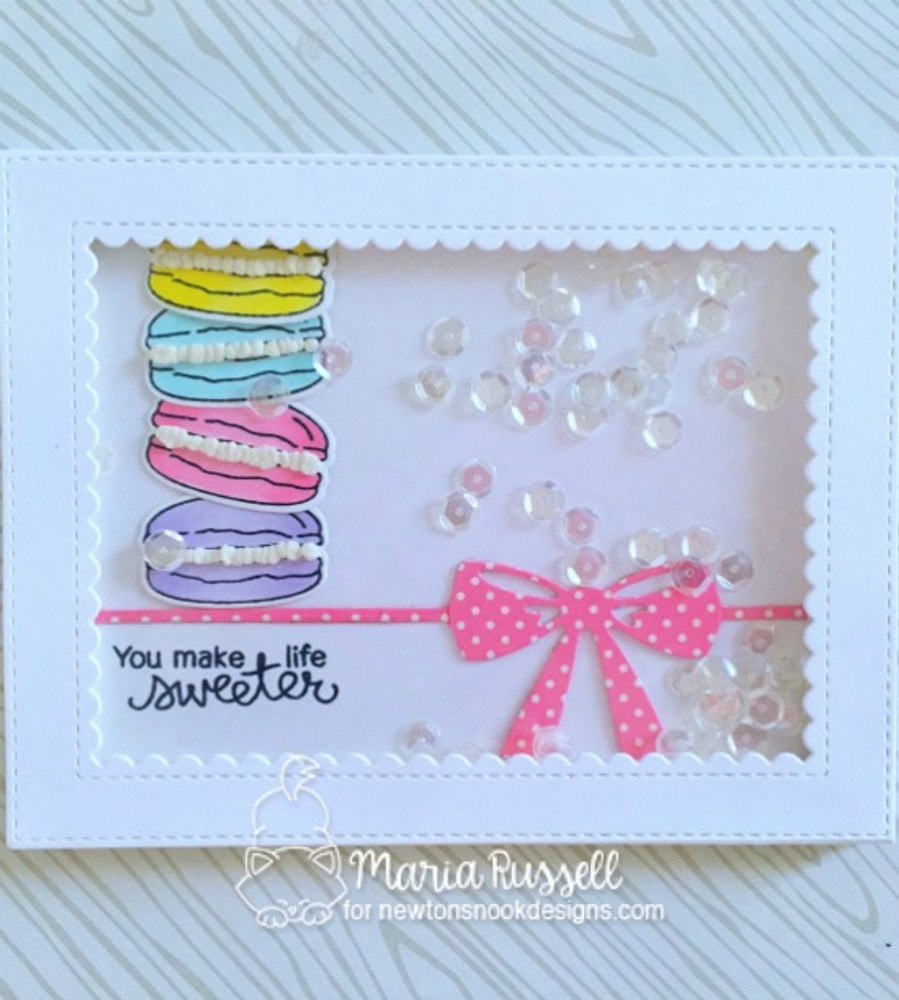 Love & Chocolate Stamp Set ©2017 Newton's Nook Designs