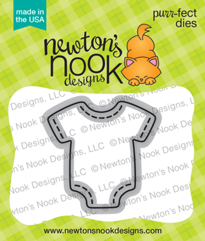Stitched Onesie Die Set ©2017 Newton's Nook Designs