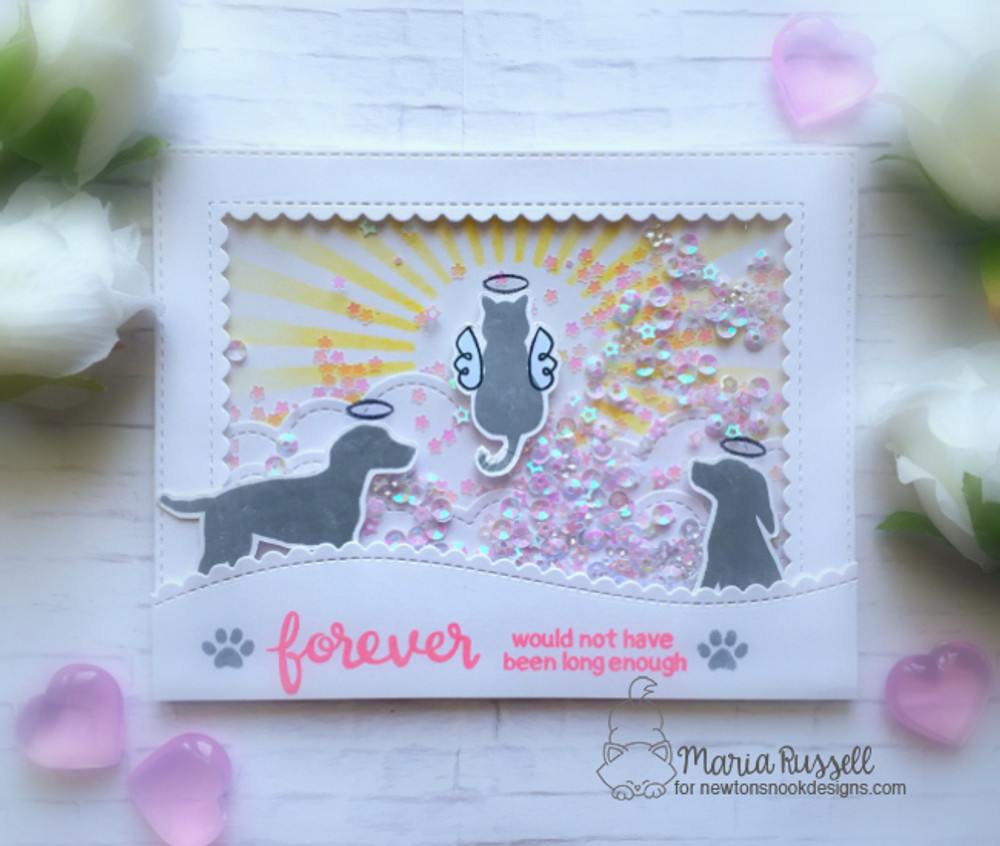 Furr-ever Friends Stamp Set ©2017 Newton's Nook Designs
