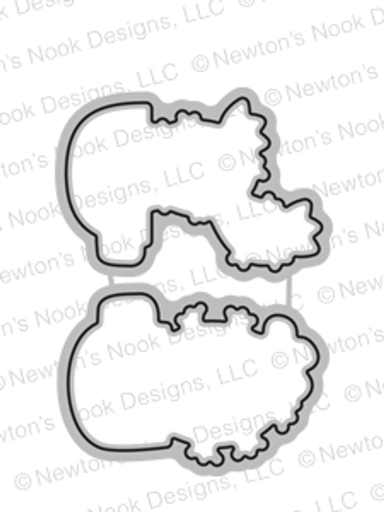 Cuppa Cactus Die Set ©2017 Newton's Nook Designs
