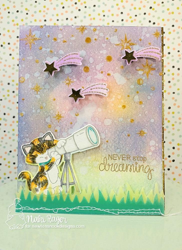 Cosmic Newton Stamp Set ©2017 Newton's Nook Designs