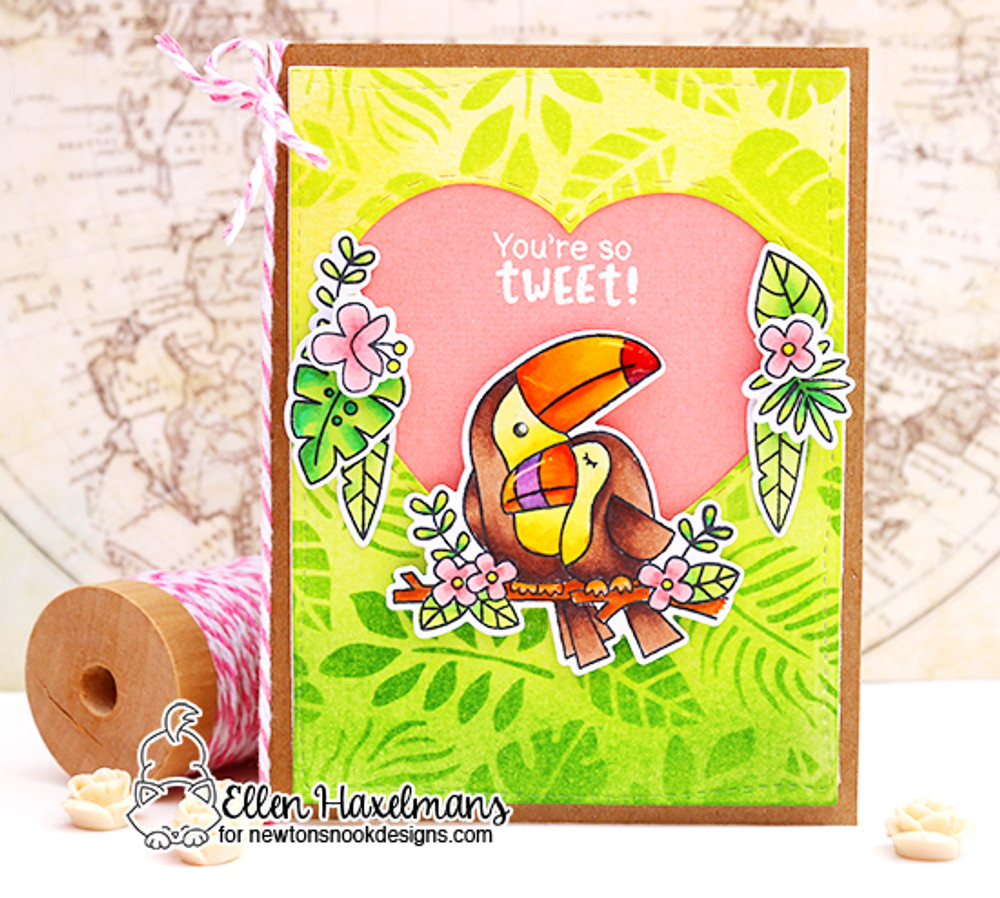 Toucan Party Stamp Set ©2017 Newton's Nook Designs