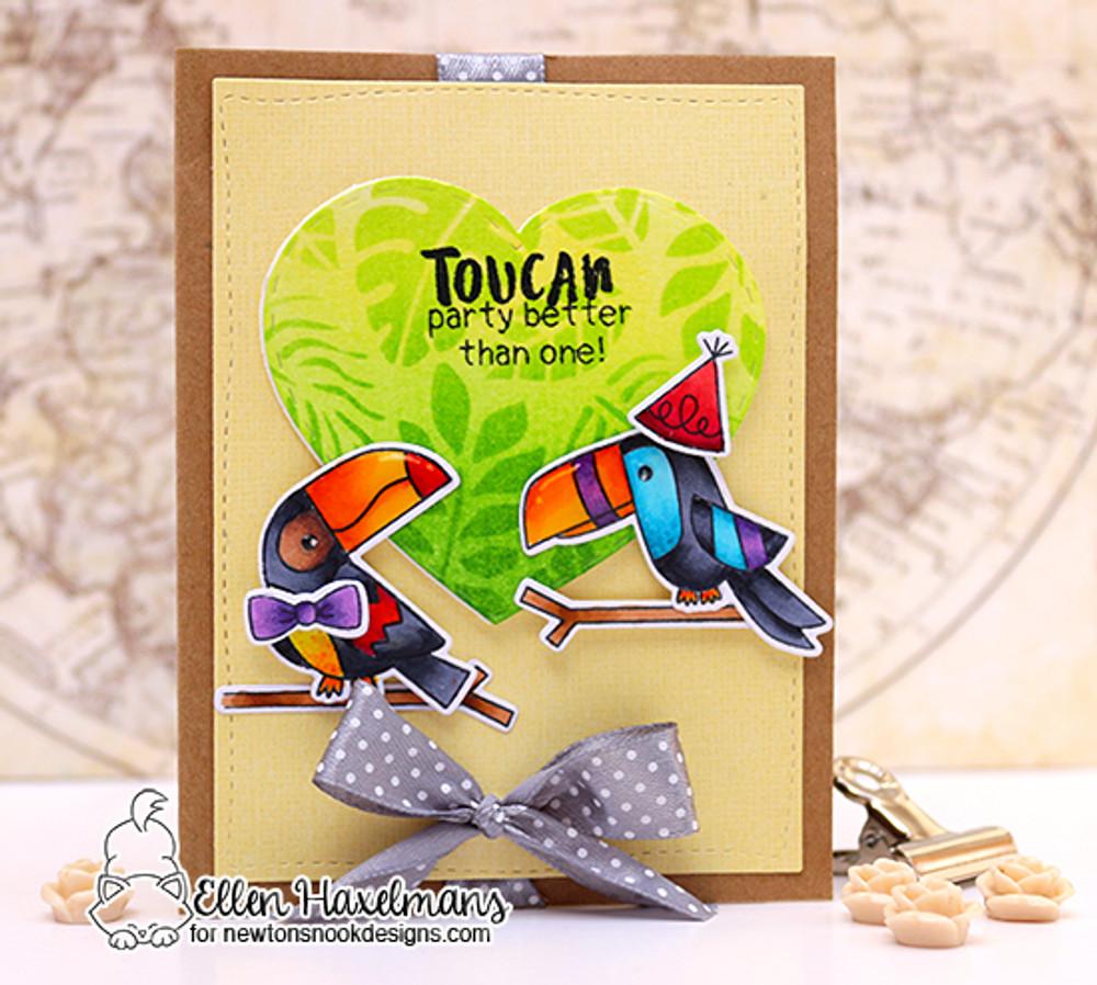 Toucan Party Stamp Set ©2017 Newton's Nook Designs