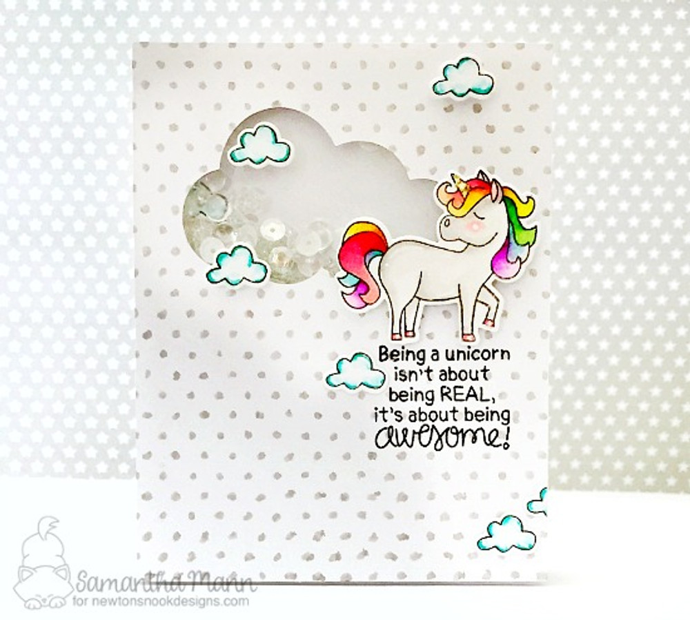 Believe in Unicorns Stamp Set ©2017 Newton's Nook Designs