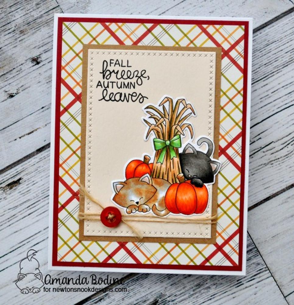 Autumn Newton  Stamp Set by Newton's Nook Designs