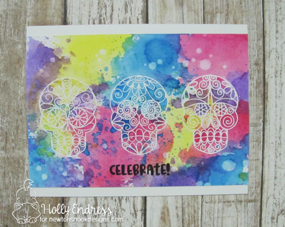 Beautiful Bones Stamp Set ©2017 Newton's Nook Designs