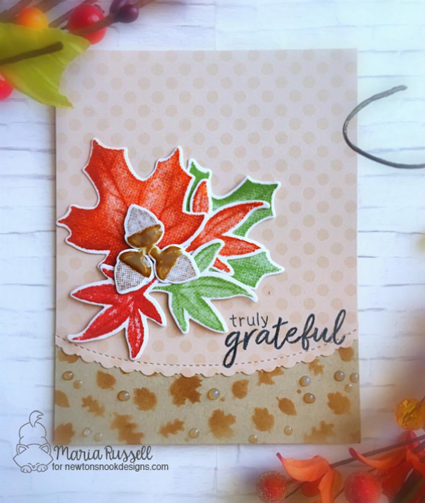 Shades of Autumn Stamp Set ©2017 Newton's Nook Designs