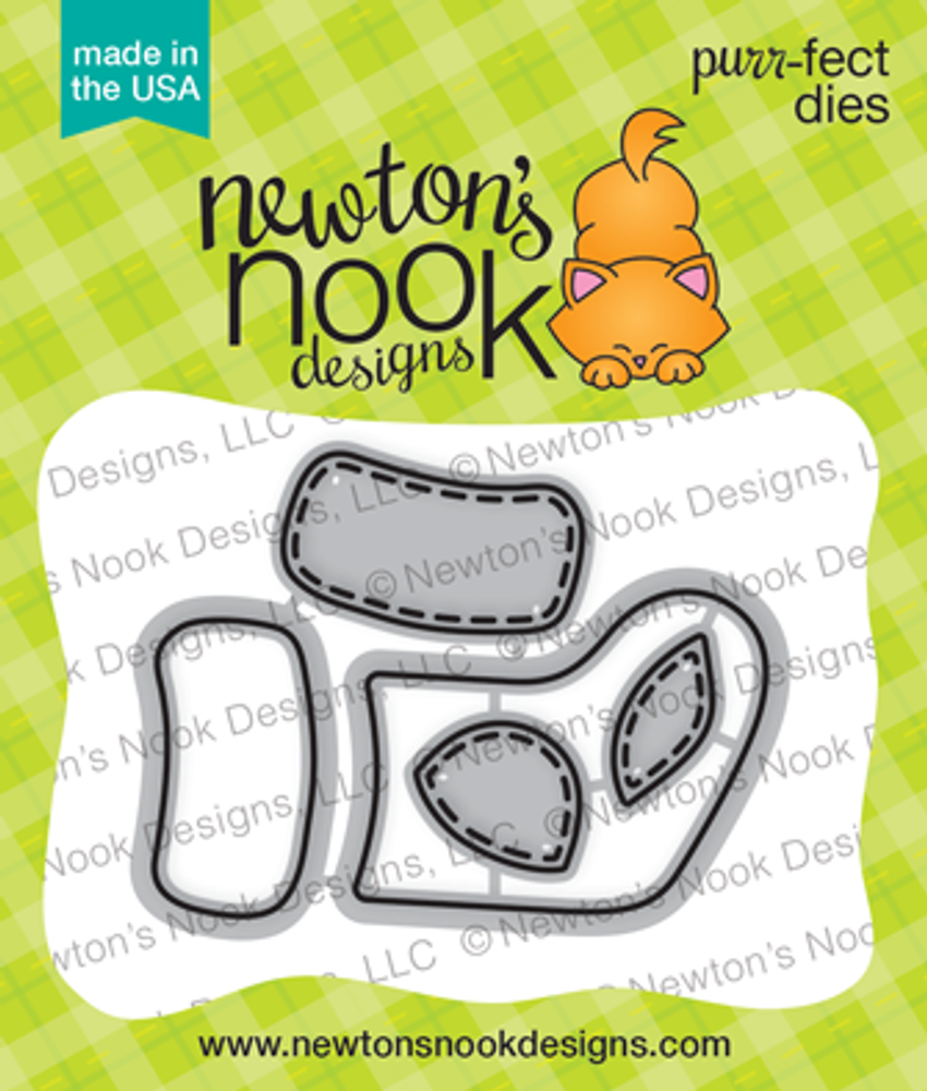 Stylish Stockings Die Set ©2017 Newton's Nook Designs