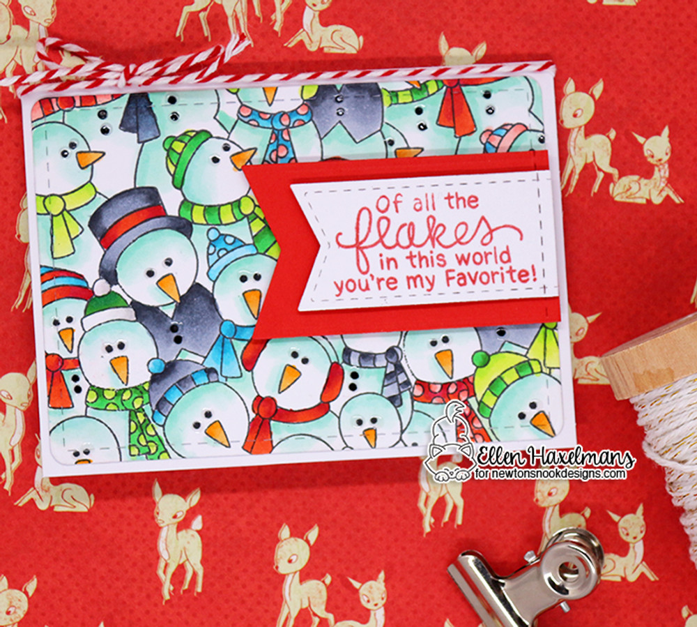Frozen Fellowship Stamp Set ©2017 Newton's Nook Designs