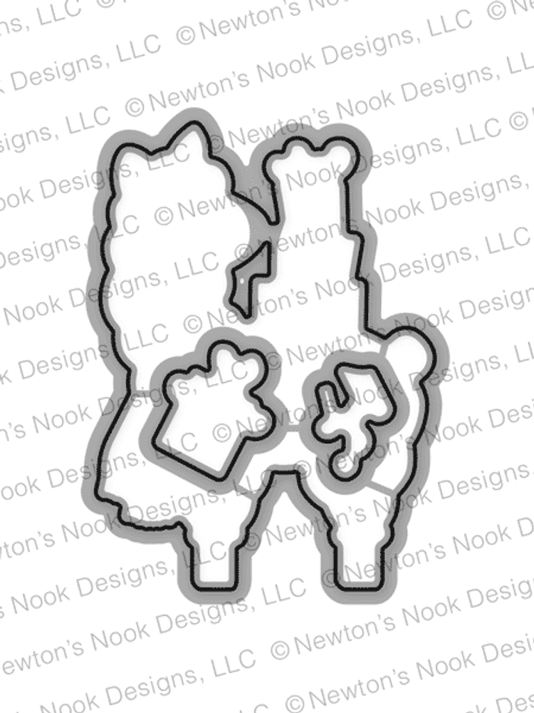 Llama Delivery Die Set ©2017 Newton's Nook Designs
