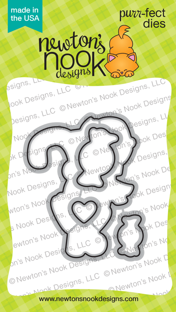 Newton's Candy Cane Die Set ©2017 Newton's Nook Designs