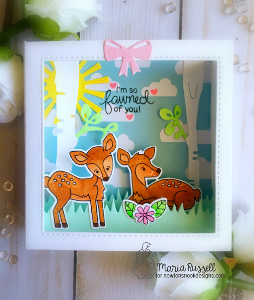Deer Friend Stamp Set ©2018 Newton's Nook Designs
