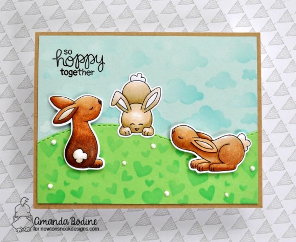Bitty Bunnies Stamp Set ©2018 Newton's Nook Designs