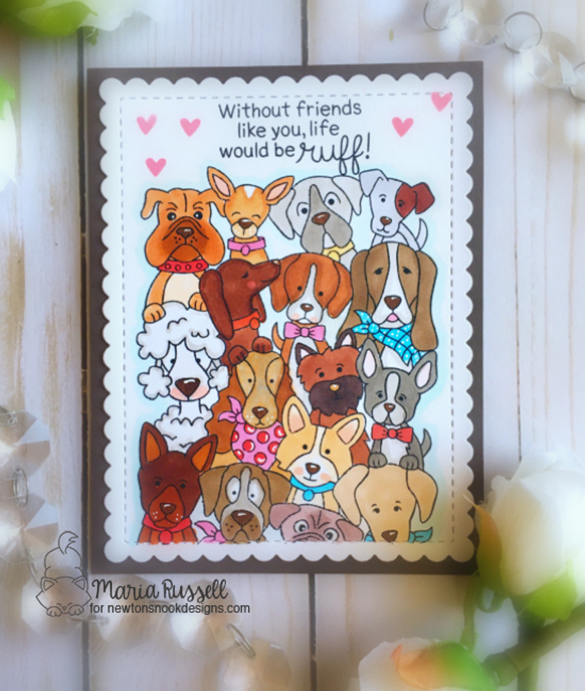 Woof Pack Stamp Set ©2018 Newton's Nook Designs