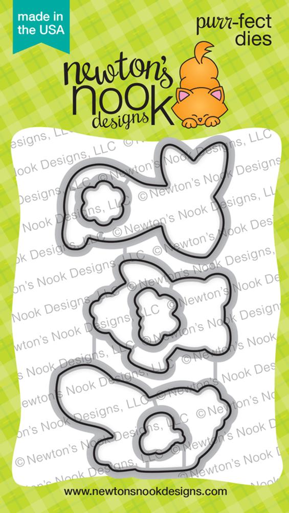 Bitty Bunnies Die Set ©2018 Newton's Nook Designs