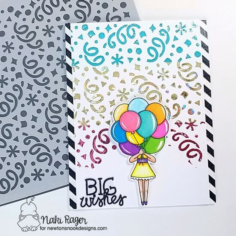 Holding Happiness Stamp Set ©2018 Newton's Nook Designs