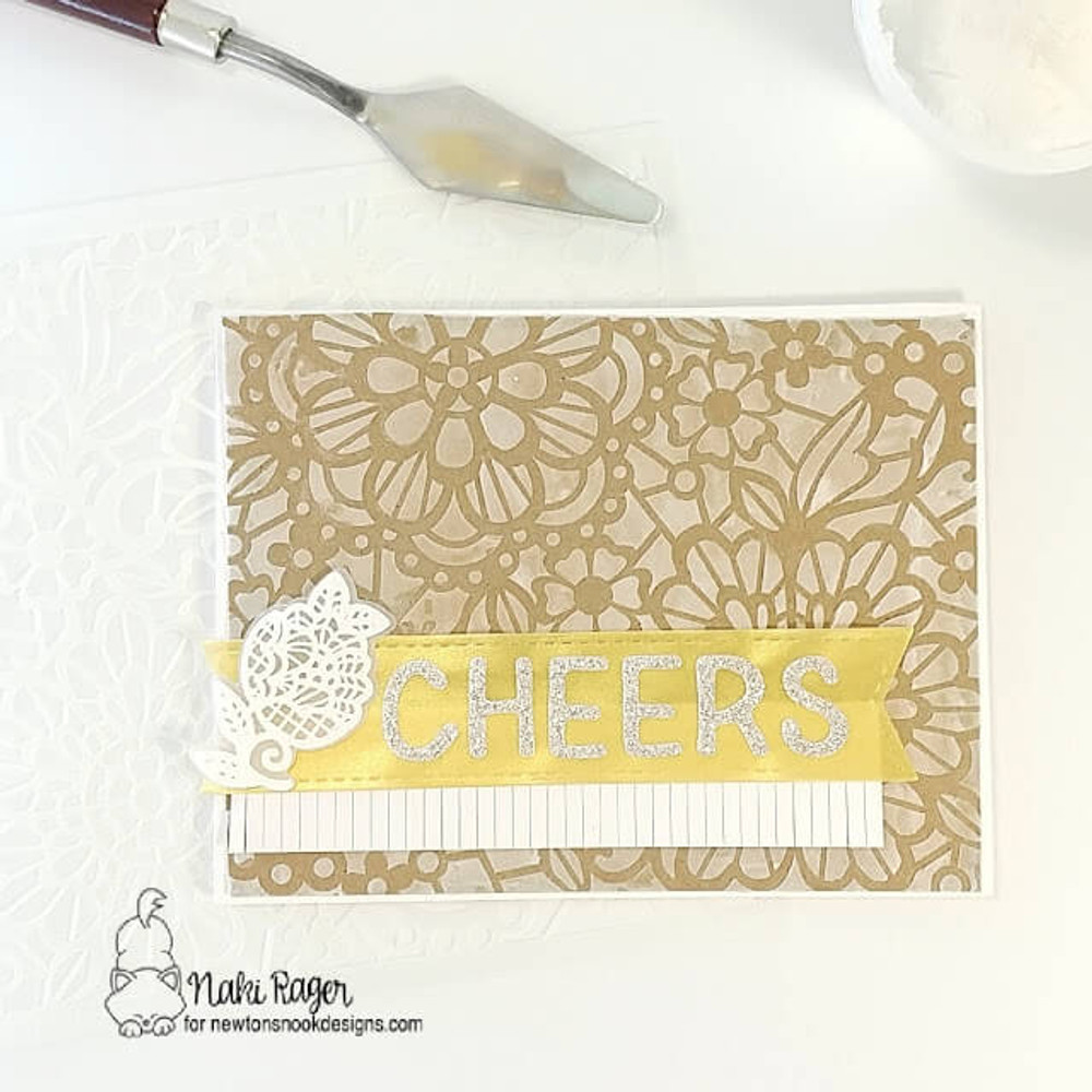 Wedding Frills Stamp Set ©2018 Newton's Nook Designs