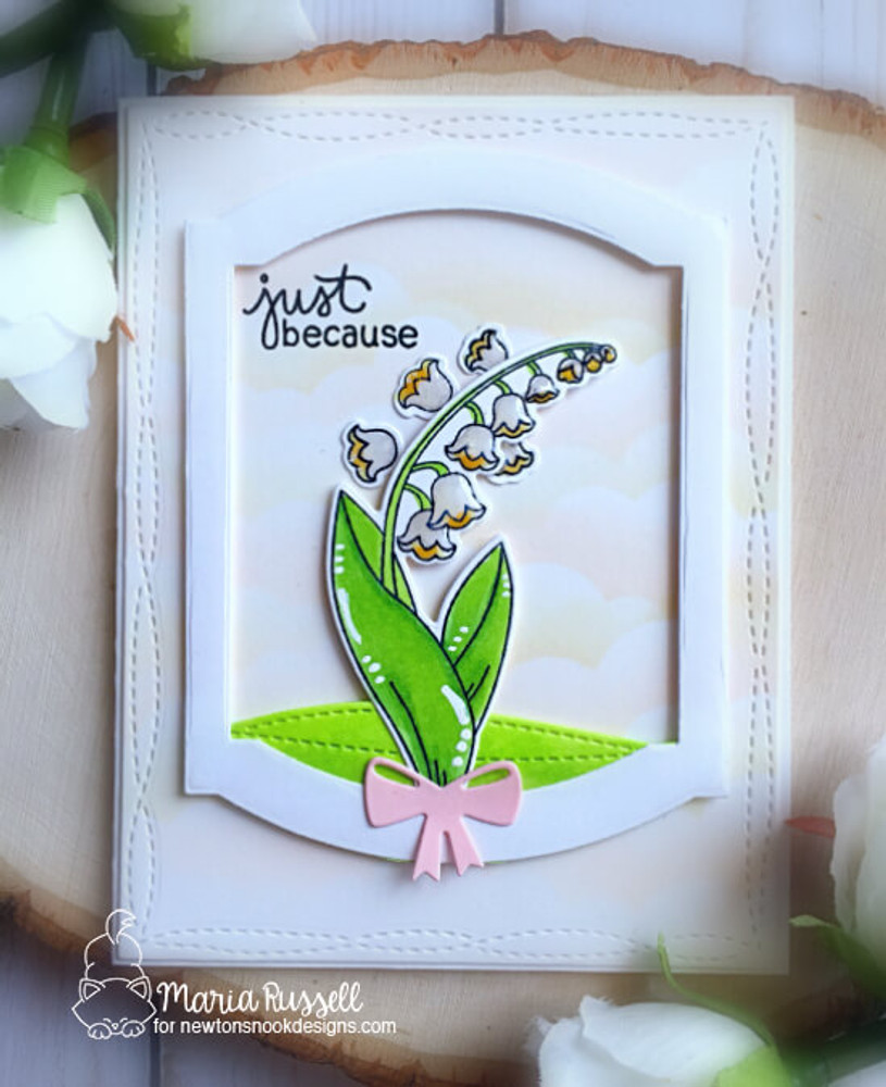 Little Lilies Stamp Set ©2018 Newton's Nook Designs