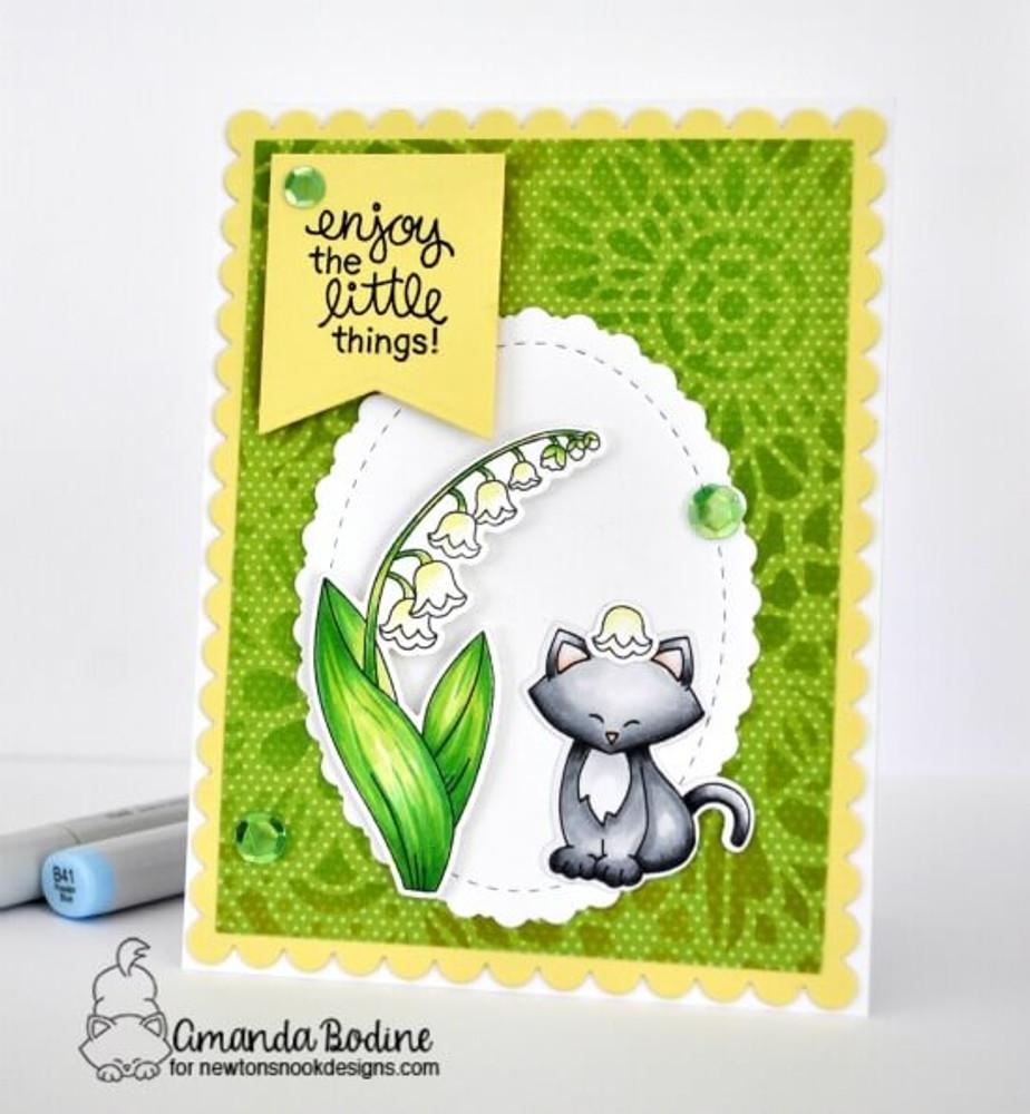 Little Lilies Stamp Set ©2018 Newton's Nook Designs
