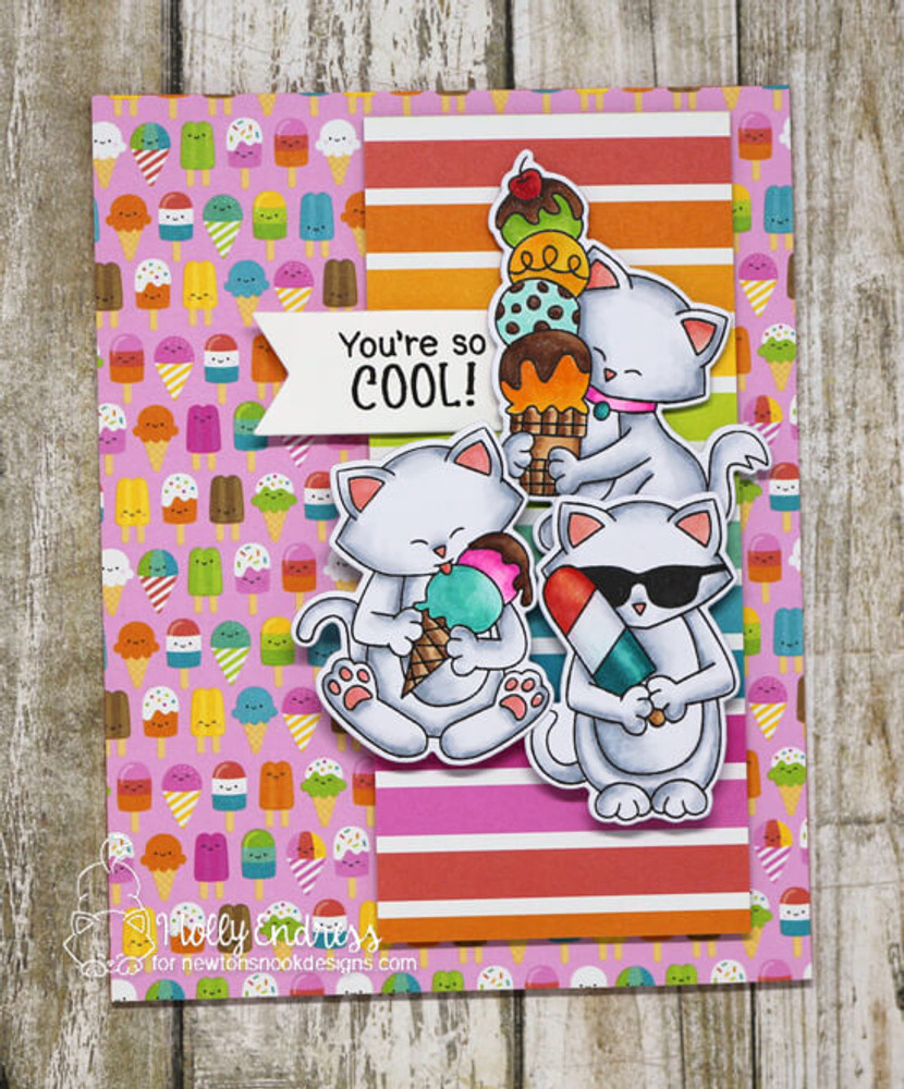 Newton's Summer Treats Stamp Set ©2018 Newton's Nook Designs