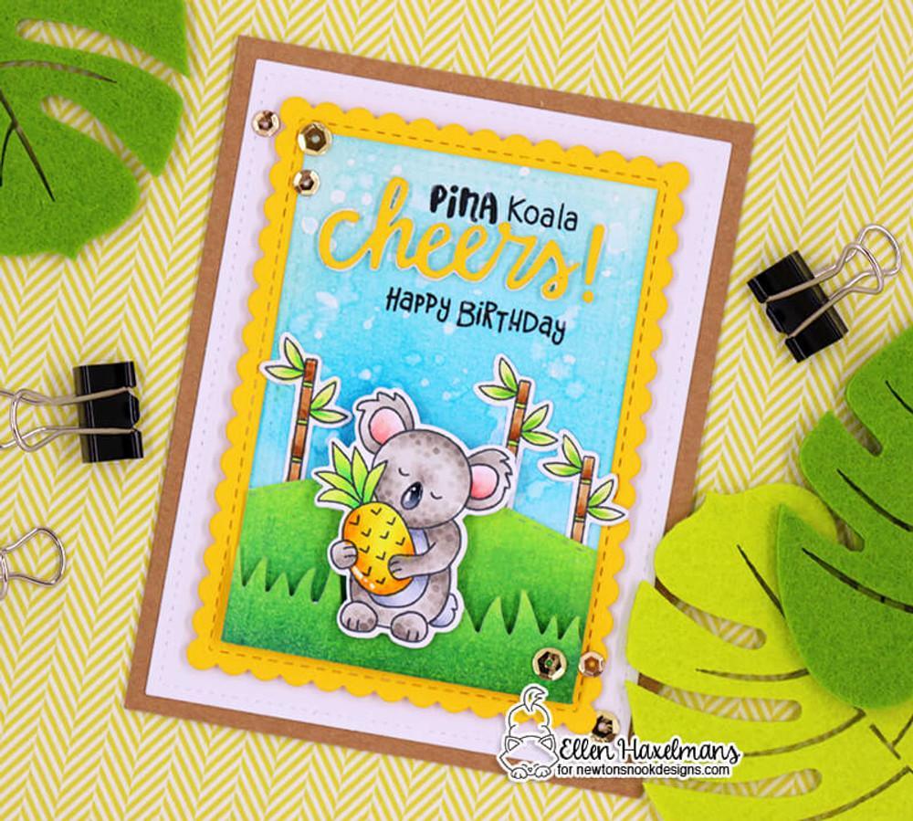 Pina Koala Stamp Set ©2018 Newton's Nook Designs