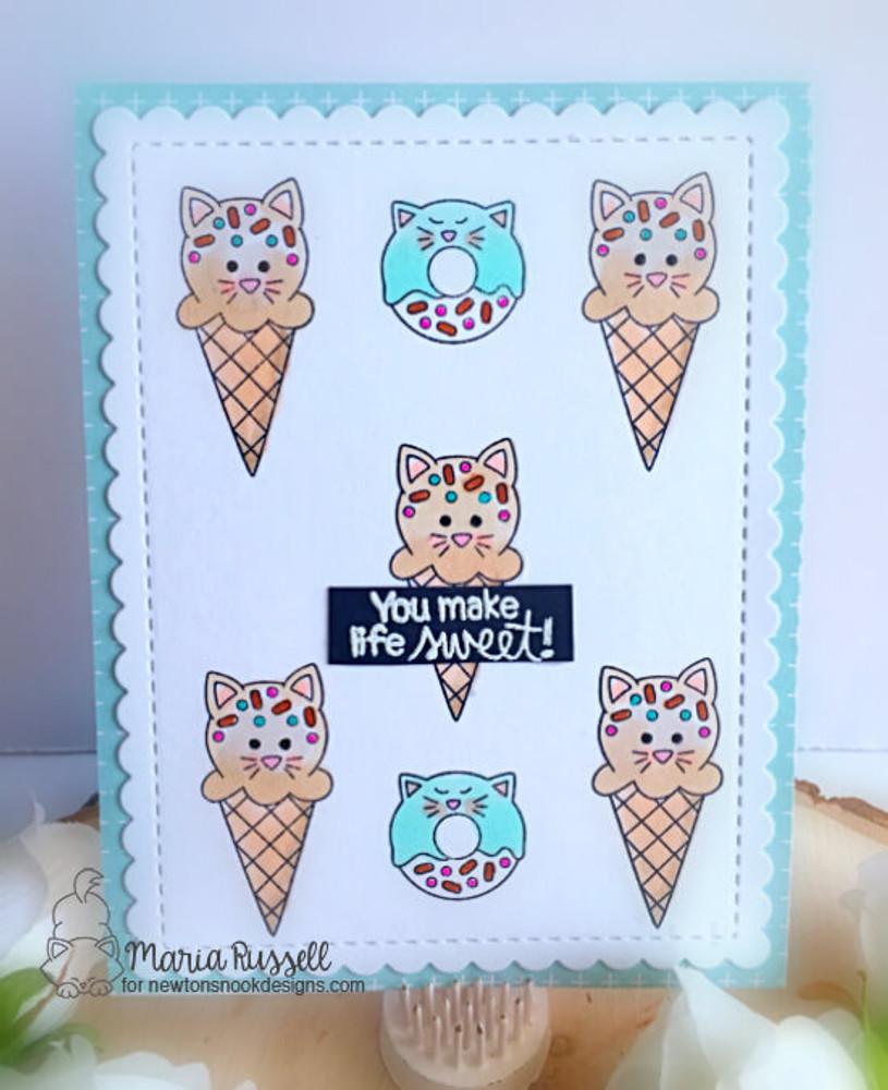 Cat Treats Stamp Set ©2018 Newton's Nook Designs