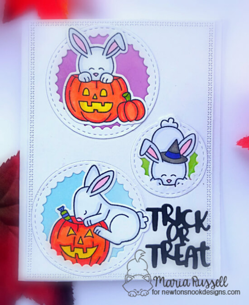 Hoppy Halloween Stamp Set ©2018 Newton's Nook Designs