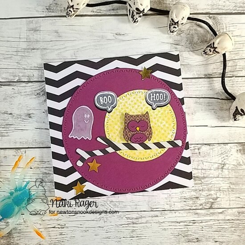 Boo Hoo Stamp Set ©2018 Newton's Nook Designs