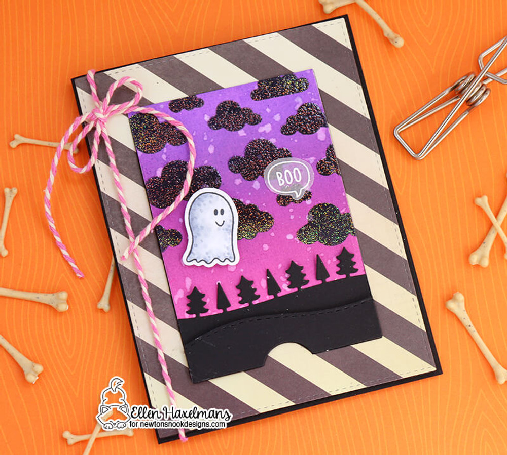 Boo Hoo Stamp Set ©2018 Newton's Nook Designs