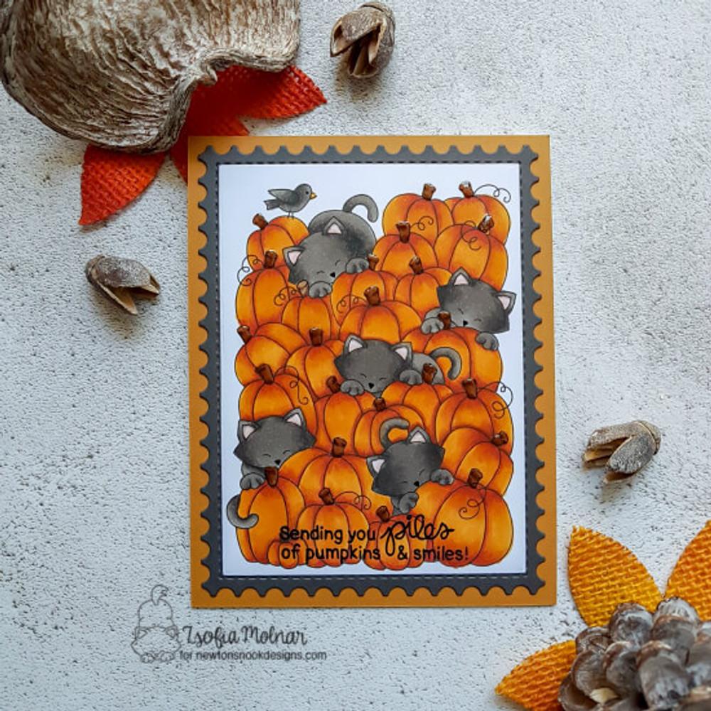 Newton's Perfect Pumpkin  Stamp Set ©2018 Newton's Nook Designs