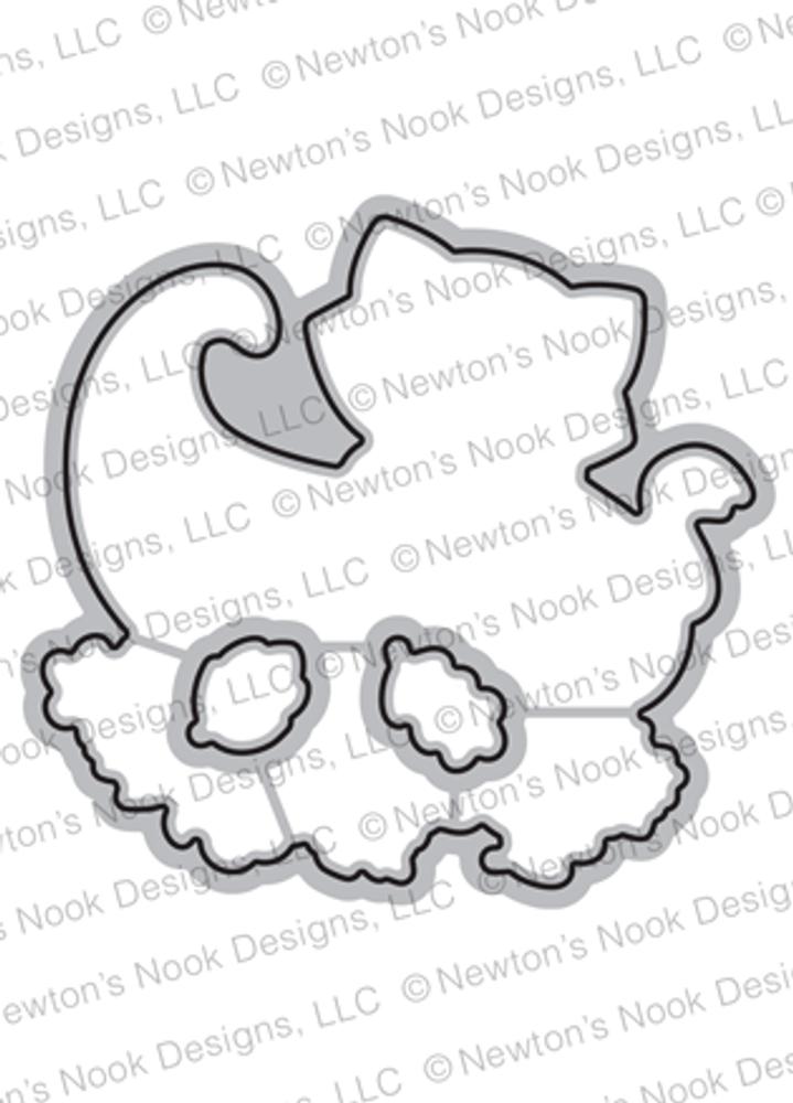 Newton Cornucopia Die Set ©2018 Newton's Nook Designs