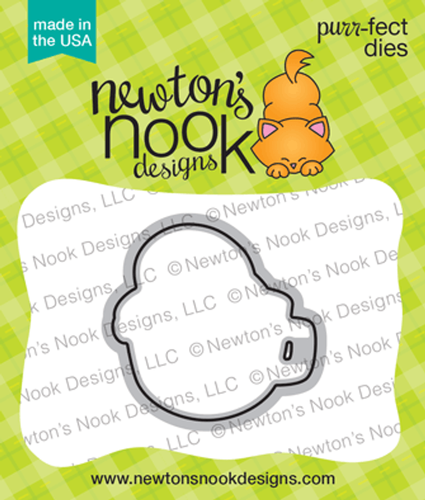 Slothy Coffee Die Set ©2018 Newton's Nook Designs