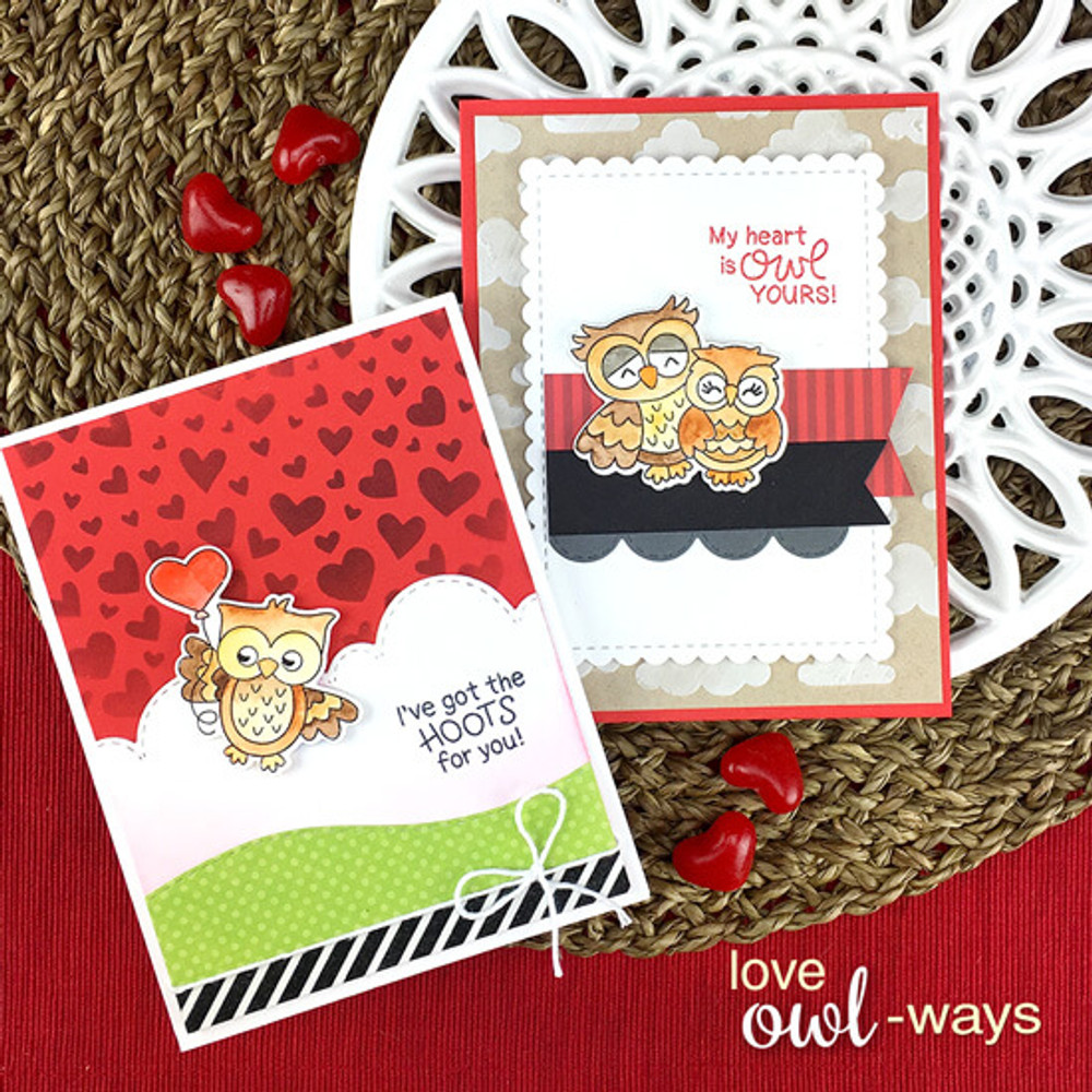 Love Owl-ways Stamp Set ©2019 Newton's Nook Designs