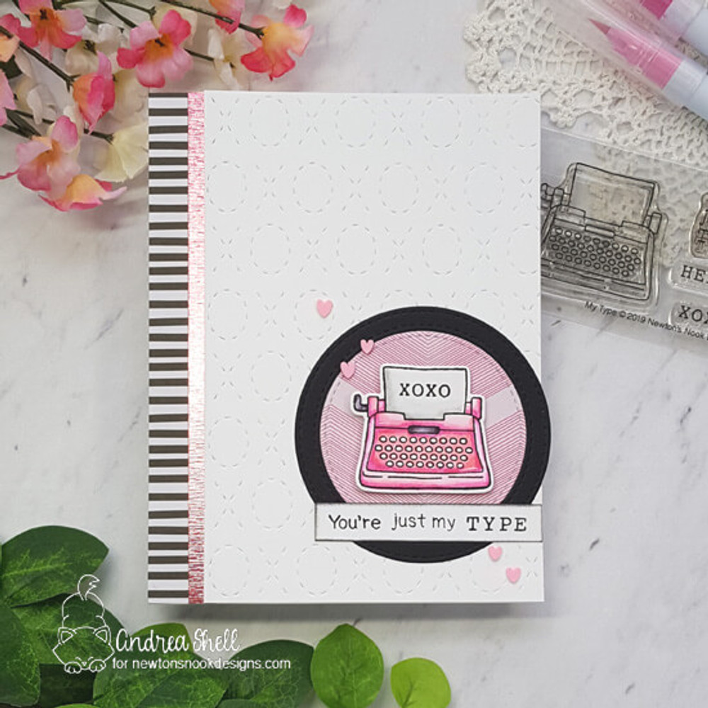 My Type Stamp Set ©2019 Newton's Nook Designs