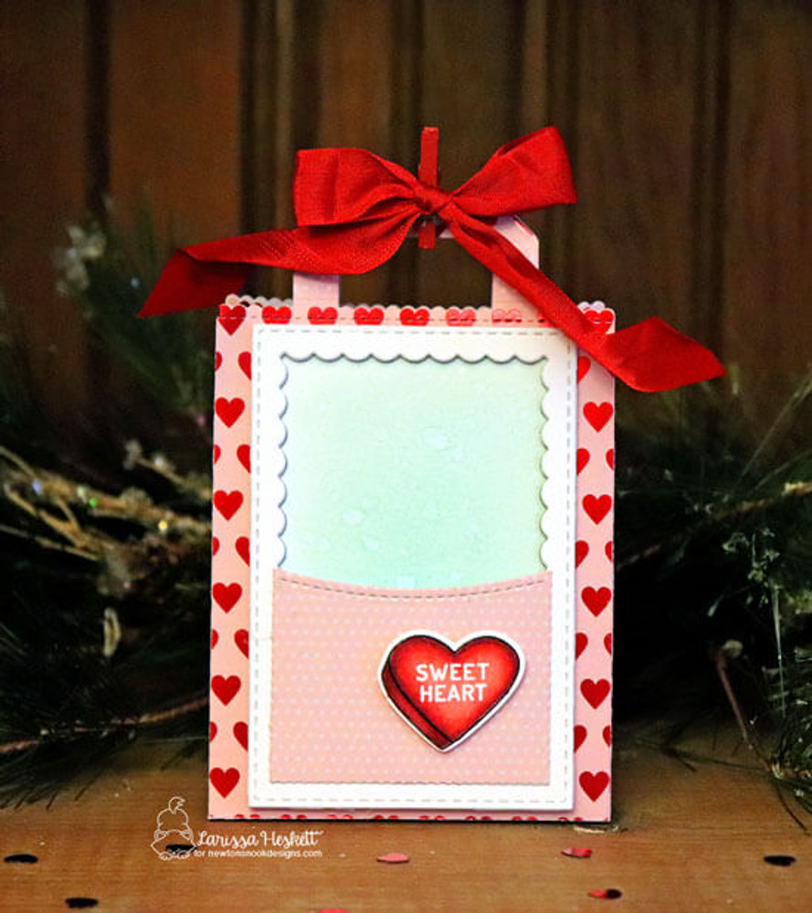 Candy Heart Stamp Set ©2019 Newton's Nook Designs