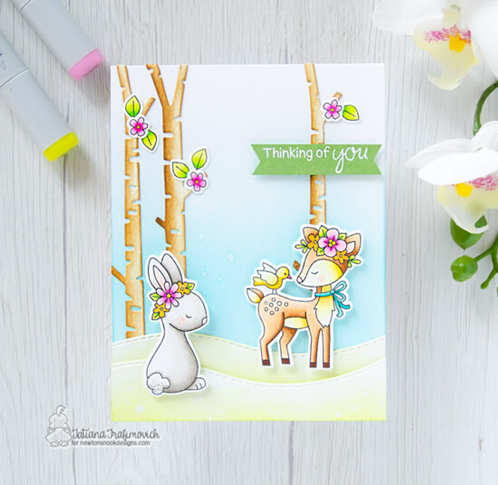 Woodland Spring Stamp Set ©2019 Newton's Nook Designs