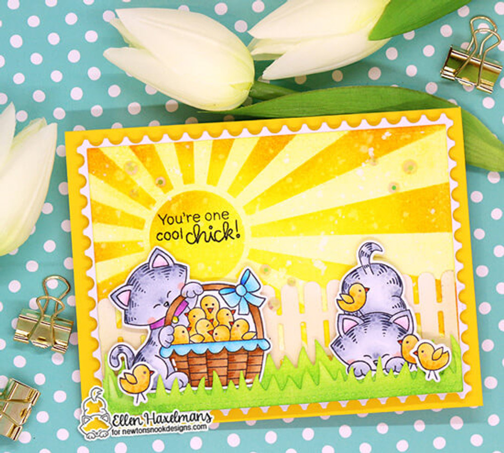 Newton's Peeps Stamp Set ©2019 Newton's Nook Designs