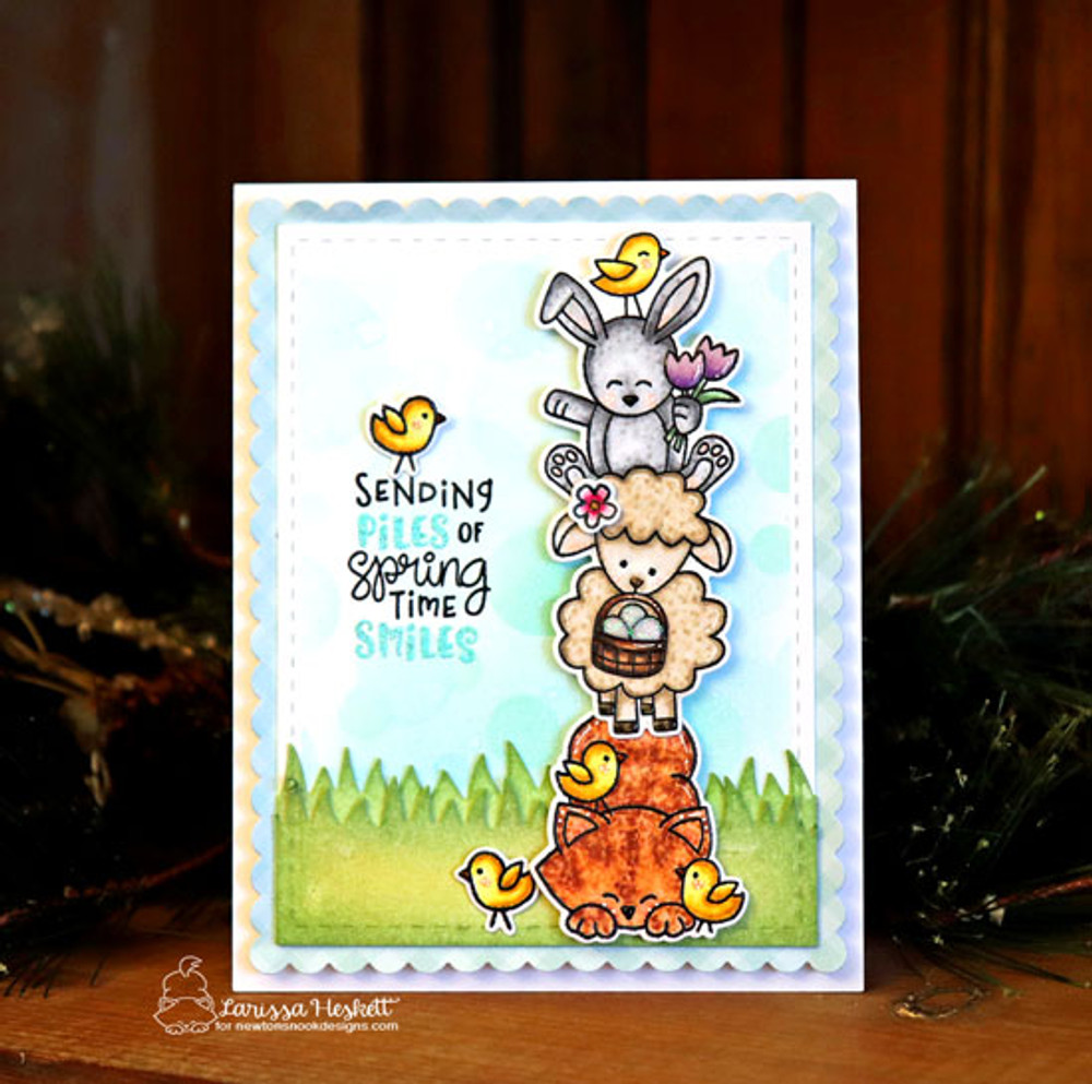 Spring Pile Up Stamp Set ©2019 Newton's Nook Designs