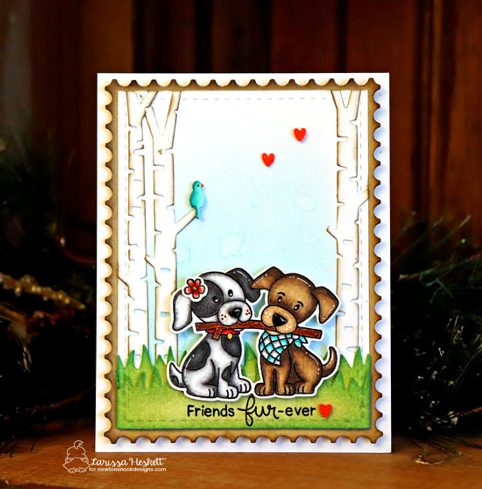 Puppy Pals Stamp Set ©2019 Newton's Nook Designs